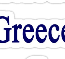 I'm Not From Greece I Am Greece  Sticker