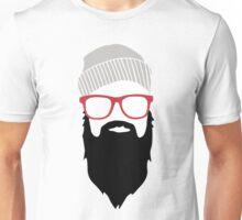 Beard Face Unisex T-Shirt