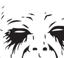 Black Metal Baby Sticker Sticker