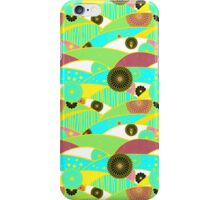 Chiyogami Turquoise & Dusty Rose [iPhone / iPod Case and Print] iPhone Case/Skin