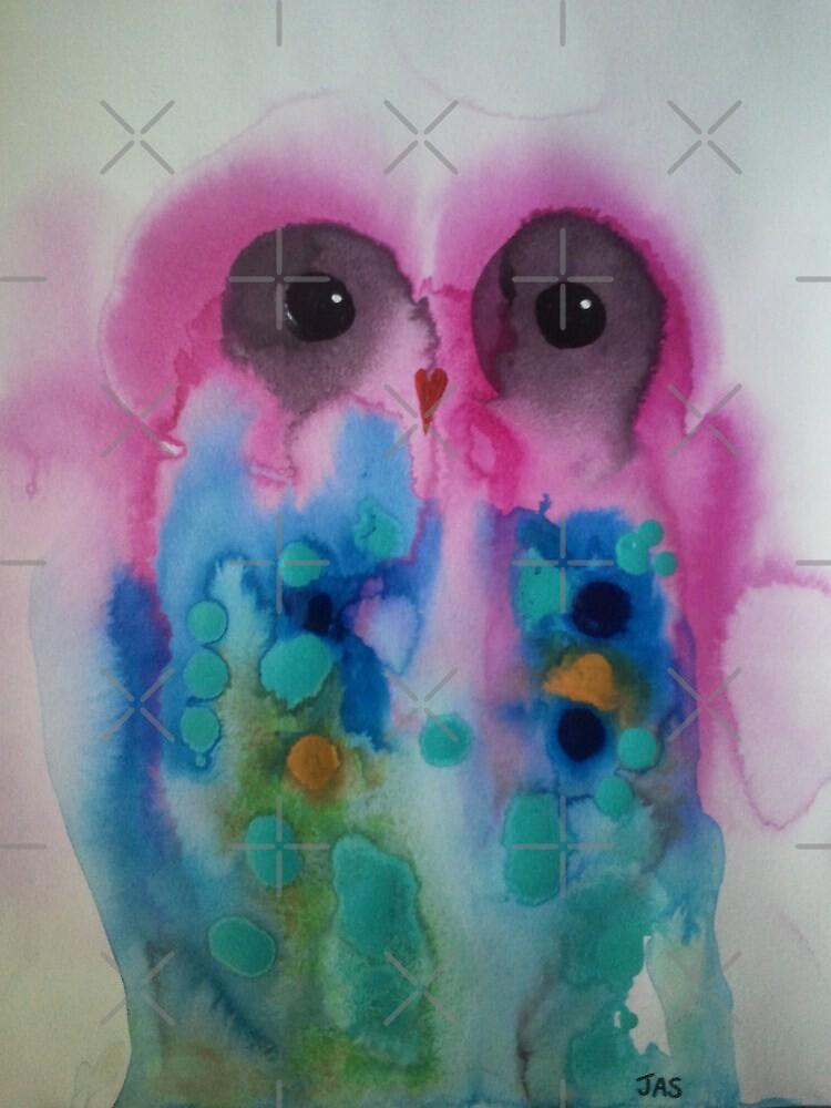 Owl 9 by Julie  Sutherland
