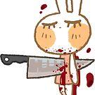 Bunny - Knife by JimHiro