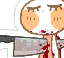 Bunny - Knife Sticker