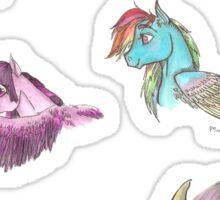 Pegasi Sticker Sheet Sticker