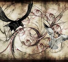 Conflict... by Karen  Helgesen