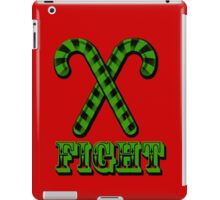 Candy Cane Fight Club iPad Case/Skin