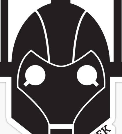 Geek Shirt #1 Cyberman Sticker