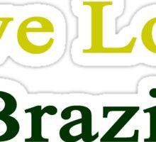 Live Love Brazil  Sticker