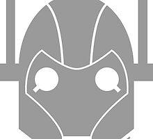 Geek Shirt #1 Cyberman Grey by RocketmanTees