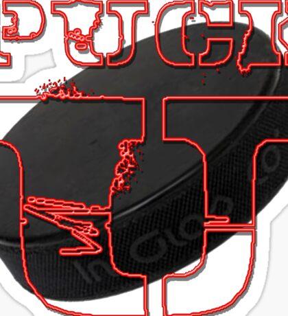 Puck U Sticker