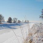 Winter Canal by Nicole  Markmann Nelson