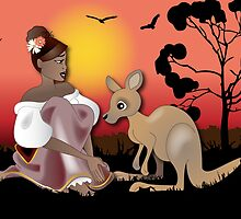 Twisted - Wild Tales: Arinya and the Kangaroo by Lauren Eldridge-Murray