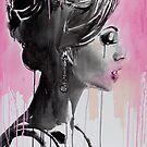 belle en rose by Loui  Jover