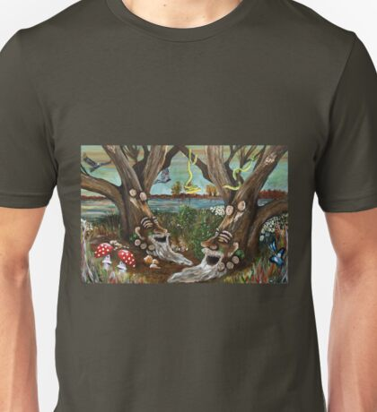 The Forest of Twins Unisex T-Shirt
