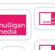 Mulligan Media Stickers Sticker