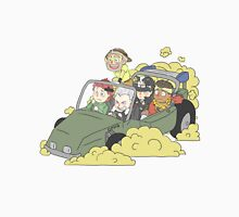 Stardust Crusaders on Car Unisex T-Shirt