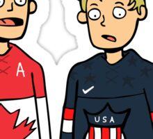 Toews and Kane Olympics Sticker