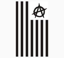EyE AM Anarchy vert Black A One Piece - Short Sleeve