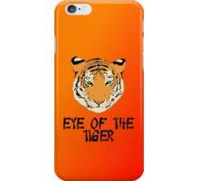Eye of the Tiger by Chillee Wilson iPhone Case/Skin