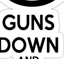 Guns Down Sticker