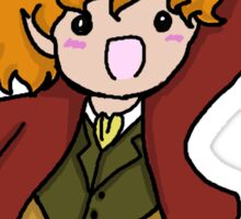 Excited Bilbo Sticker