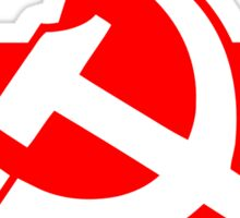 Soviet Hammer and Sickle Red Star Stickers Sticker