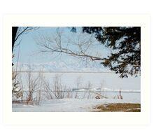 Willard Lake Art Print