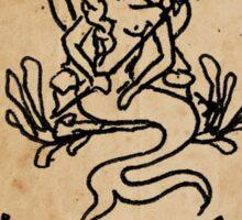 Mermaid Tarot Sticker: High Priestess Sticker