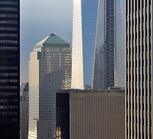Construction of One World Trade Center May 16, 2012 in New York, NY by Anton Oparin