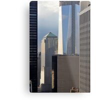 Construction of One World Trade Center May 16, 2012 in New York, NY Metal Print
