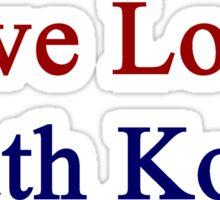 Live Love South Korea  Sticker
