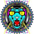 Neon Tiger by swiftyspade