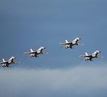 Thunderbird Formation by Nicole  Markmann Nelson