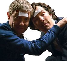 Drunk John and Drunk Sherlock by 1MoreMiracle