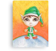 Holiday Elf Canvas Print
