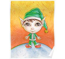 Holiday Elf Poster