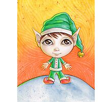 Holiday Elf Photographic Print