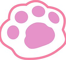 Pink Neko Paw by creeponradio