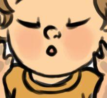 Kiss Sticker