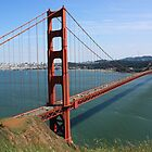 #1091  Golden Gate Bridge In Color by MyInnereyeMike