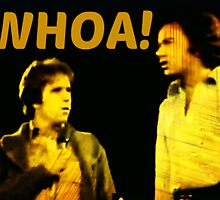 "The Fonz takes Neil Diamond's microphone to say ""Whoa!"" by smilku"
