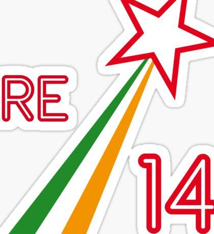 IRELAND STAR Sticker