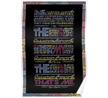 Phenomenal Woman By Maya Angelou - Typographic Poster Poster