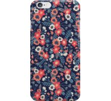 Flowers & Ferns iPhone Case/Skin