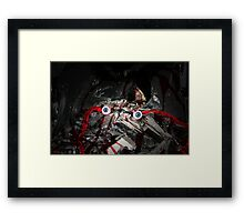 The Decay of the Mind. Framed Print