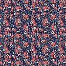 Flowers & Ferns by Emma Hampton