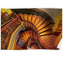 Grand Stairway. Poster