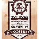 ATOMIKON Hot Rods & Motorcycles by Mark Will