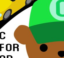 "ABC Bears ""C is for Car"" Sticker"