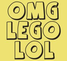 OMG LOL T-Shirt by Customize My Minifig by ChilleeW
